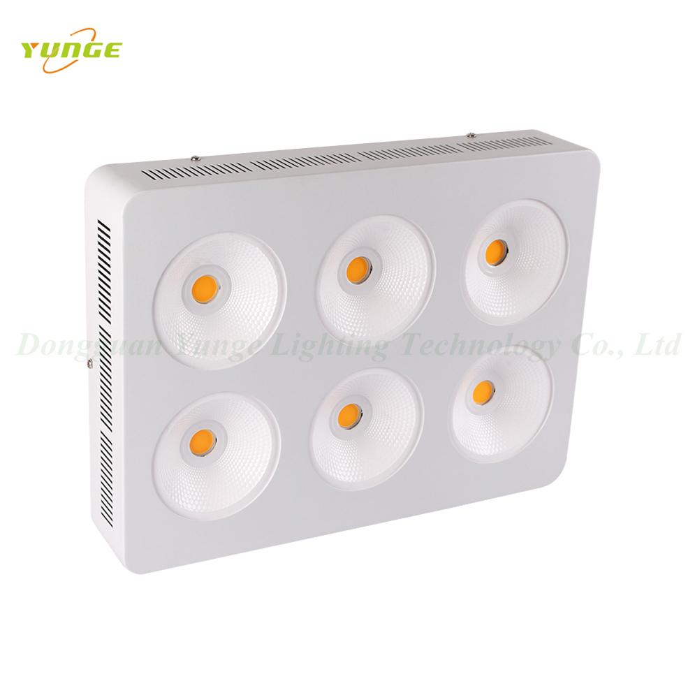 1200W COB LED plant grow light,High quality CREE chip,high Lumious flux lamp. 2