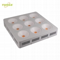 1800W COB LED grow lampt,High-power growth light,high Lumious flux lighting.