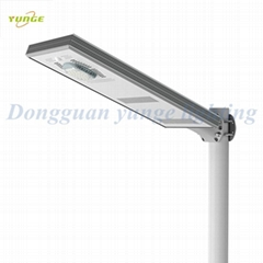 25W Solar Panel,10W LED Integrated Solar Street Lights(Working Time 10 hours)