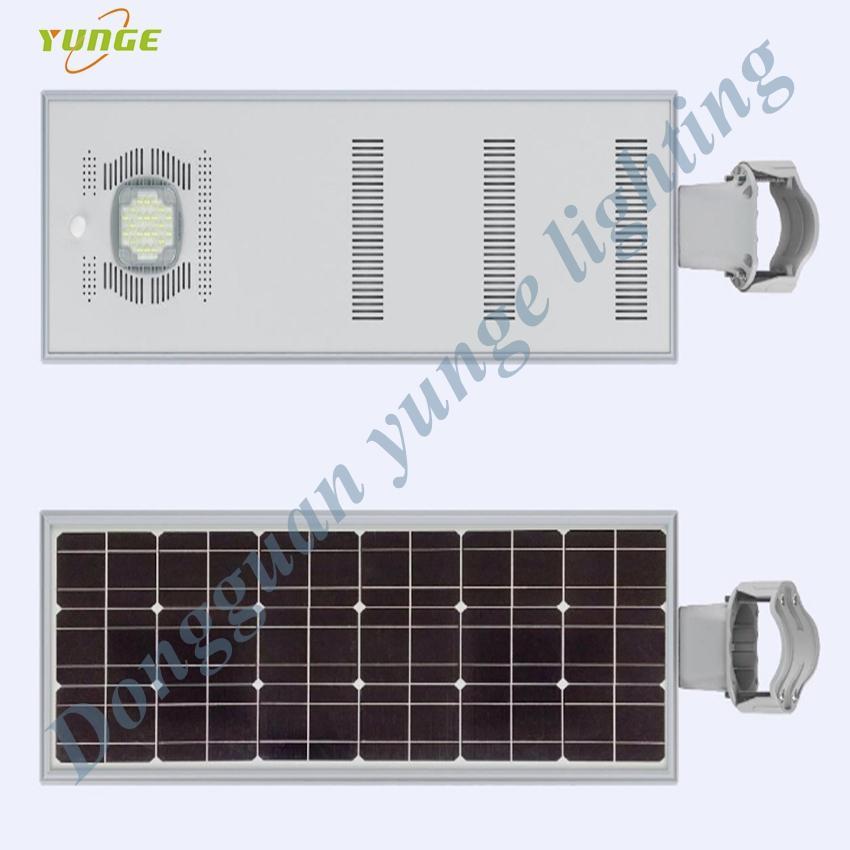 25W Solar Panel,10W LED solar street light PIR (Working Time 14 hours)