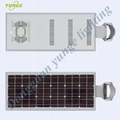 25W Solar Panel,10W LED solar street light PIR (Working Time 14 hours)