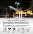 25W Solar Panel,10W LED solar street light PIR (Working Time 14 hours) 7