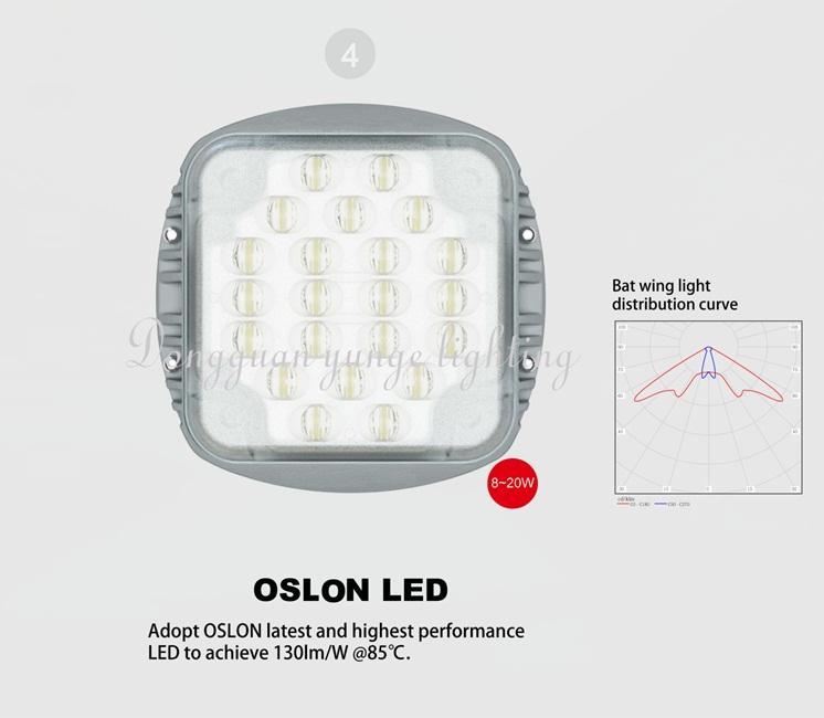 25W Solar Panel,10W LED Solar Street Lights (Working Time 10 hours) 9