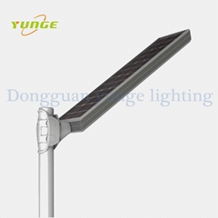 25W Solar Panel,10W LED all-in-one solar street light (Working Time 14 hours)