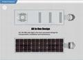 40W Solar Panel, 20W LED PIR Sensor Solar light (Working Time 10 hours) 5
