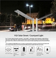 25W Solar Panel,10W LED all-in-one solar street light (Working Time 14 hours) 5