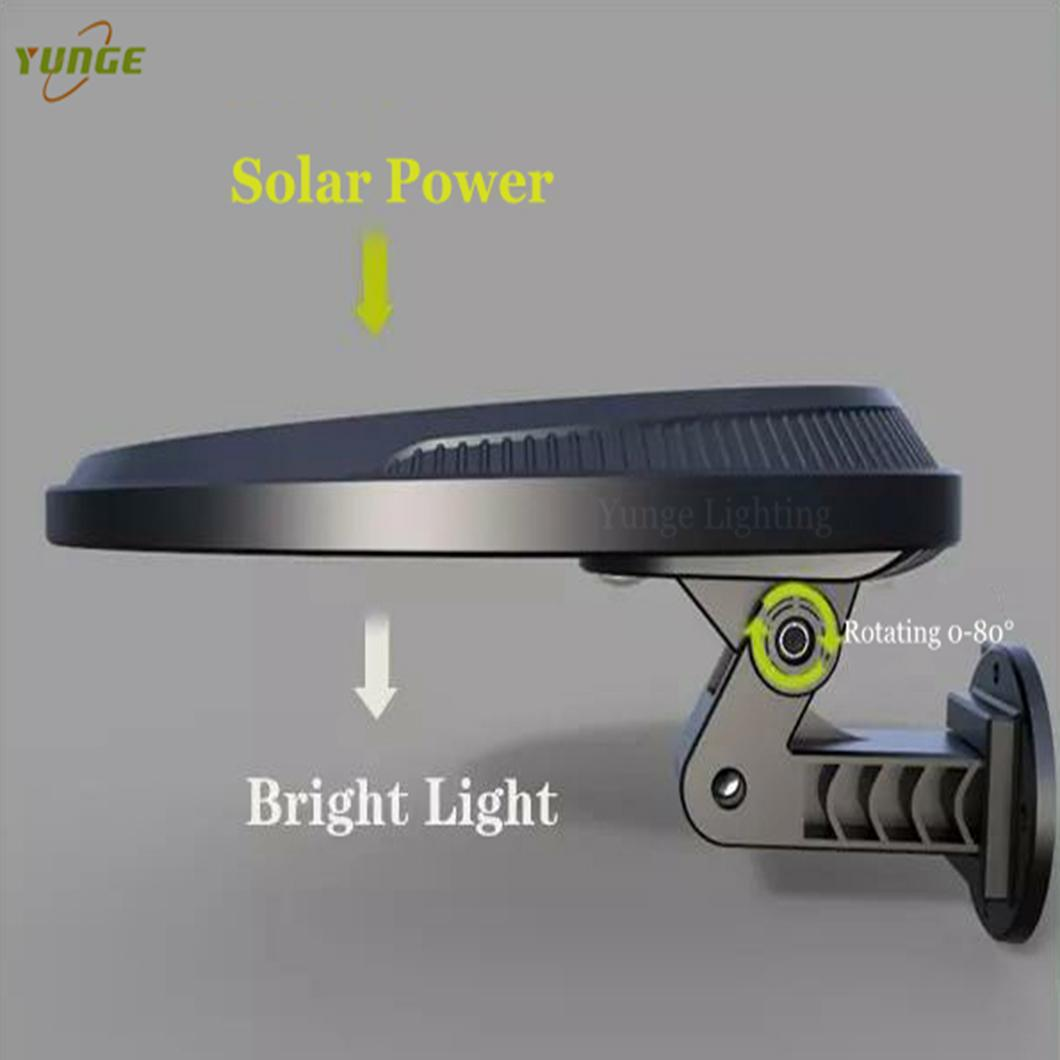 3W solar panel,6W LED Solar Motion Wall Light With Alarm System 5
