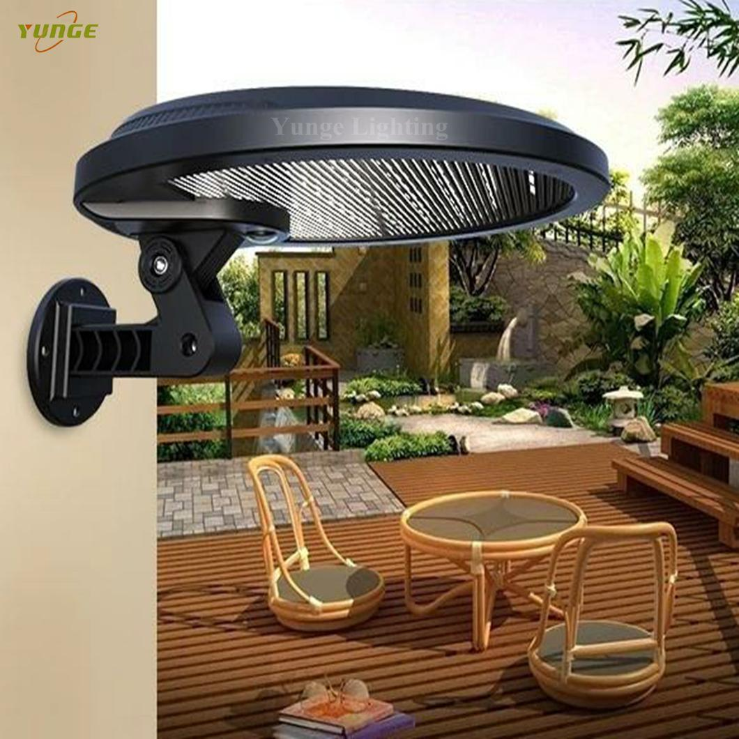 3W solar panel,6W LED Solar Motion Wall Light With Alarm System 9