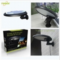 3W solar panel,6W LED Solar Motion Wall Light With Alarm System 11