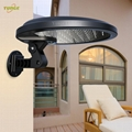 3W solar panel,6W LED Solar Motion Wall Light With Alarm System 13