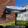 3W solar panel,6W LED Solar Motion Wall Light With Alarm System 18
