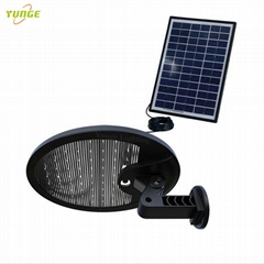 3W solar panel,6W LED Solar Motion Wall Light With Alarm System (Hot Product - 1*)