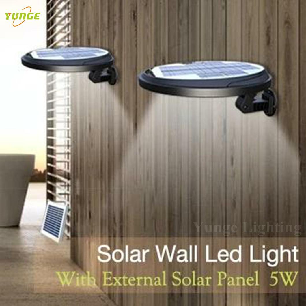 3W solar panel,6W LED Solar Motion Wall Light With Alarm System 9
