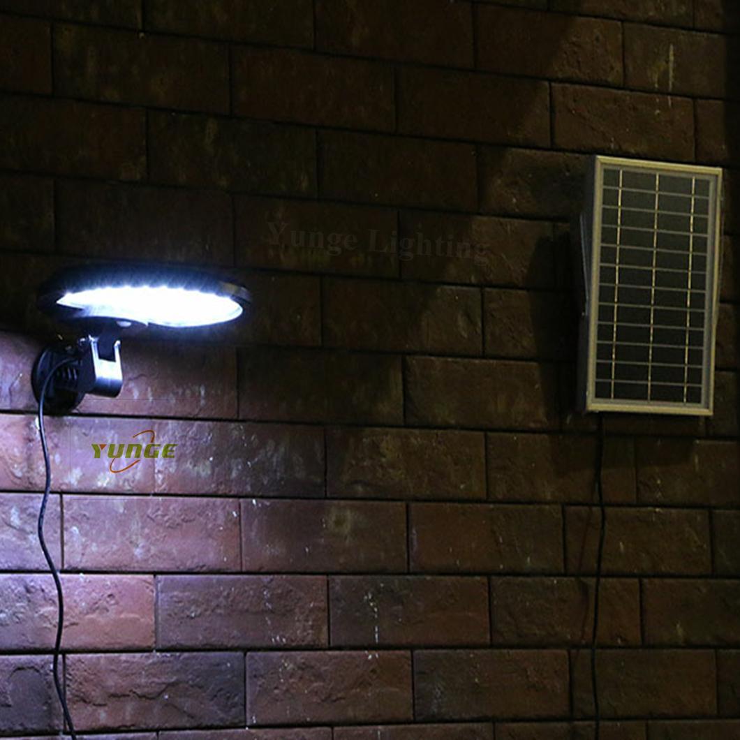 3W solar panel,6W LED Solar Motion Wall Light With Alarm System 10