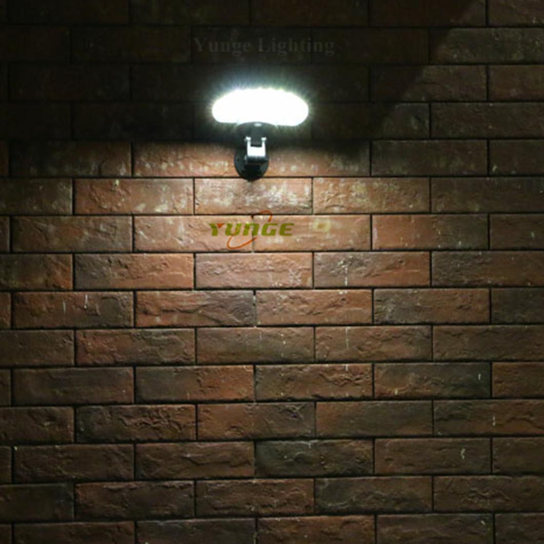 3W solar panel,6W LED Solar Motion Wall Light With Alarm System 15