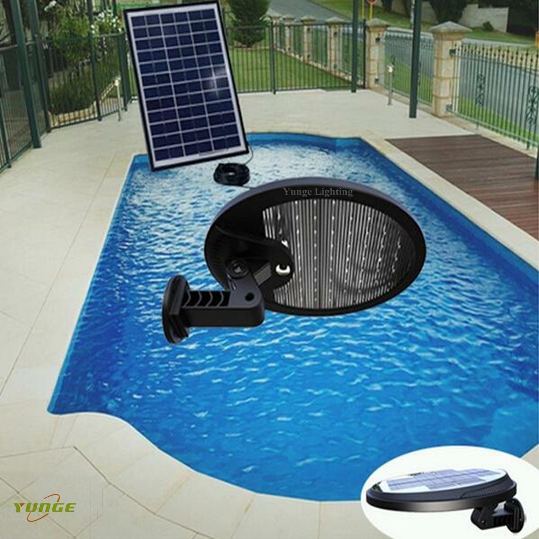 3W solar panel,6W LED Solar Motion Wall Light With Alarm System 17