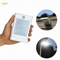 0.66W solar panel,1W LED Solar Wall Light With Dual-working Mode
