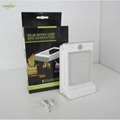 0.66W solar panel,1W LED Solar Wall Light With Built-in battery 6