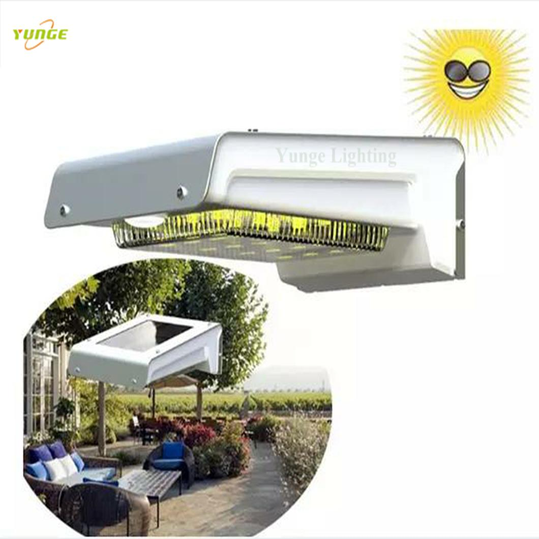 0.66W solar panel,1W LED Solar Wall Light With Built-in battery 4