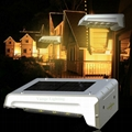 0.66W solar panel,1W LED Solar Wall Light With with battery box