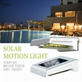 0.66W solar panel,1W LED Solar Wall Light With with battery box 17