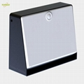 2.2W Solar panel,5W led solar wall light with Motion Senso