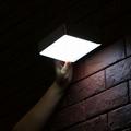 2.2W Solar panel,5W led solar wall light with Motion Senso 6