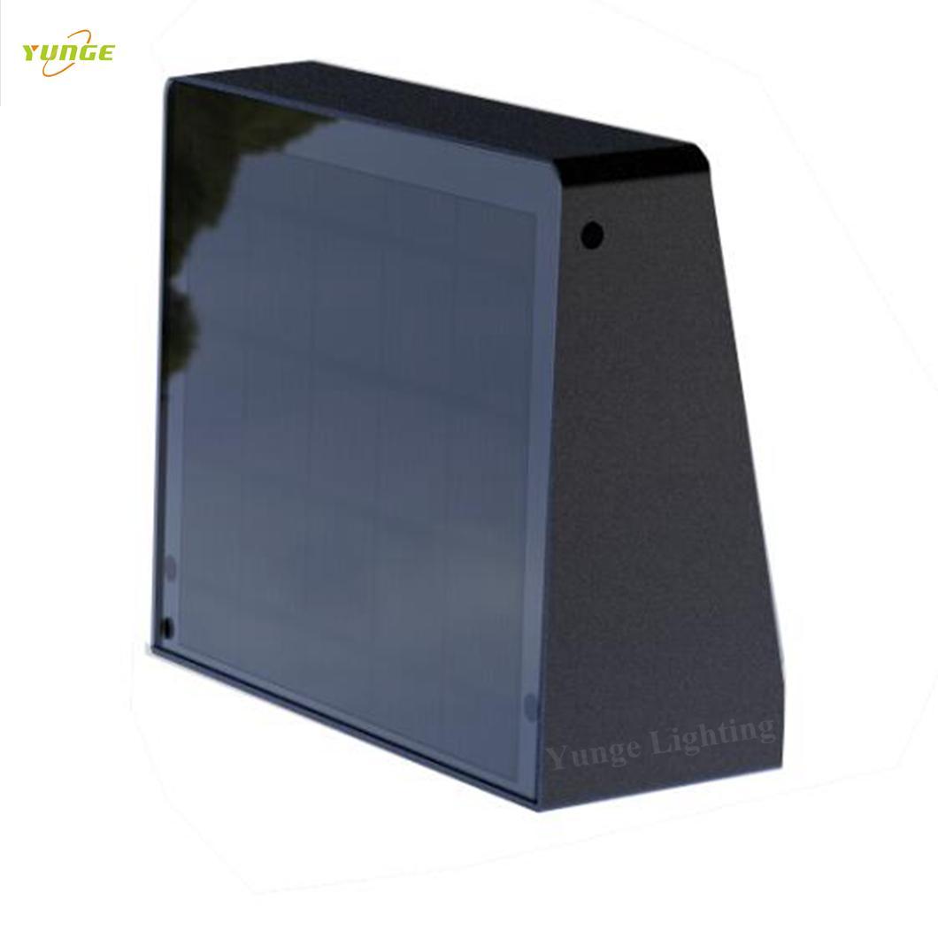 2.2W Solar panel,5W led solar wall light with Motion Senso 2