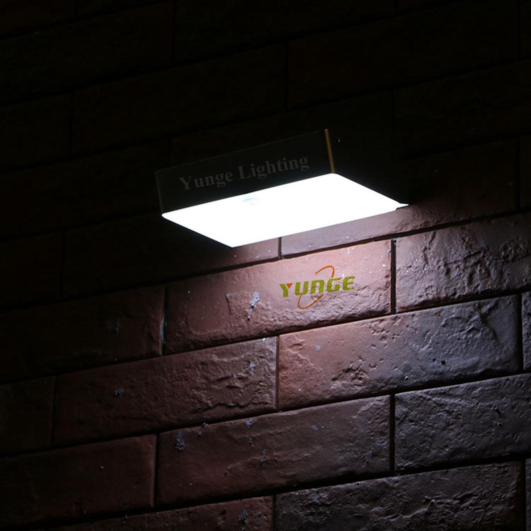 2.2W Solar panel,5W led solar wall light with Motion Senso 5