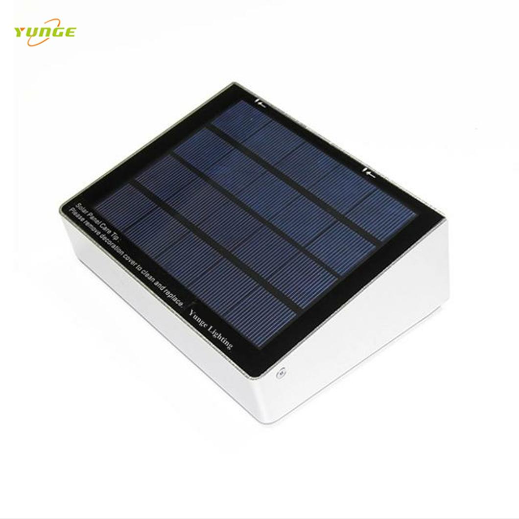 3W solar panel,3.5W led Solar Motion Sensor wall Light With Remote Controller 2