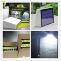 3W solar panel,3.5W led Solar Motion Sensor wall Light With Remote Controller 7