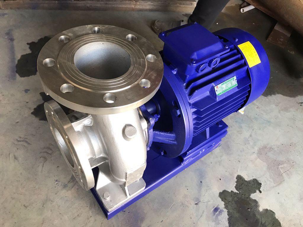 ISW卧式离心水泵油泵化工泵 1