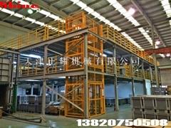 三层钢结构平台