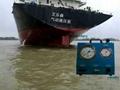 Marine pneumatic high pressure pump