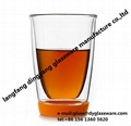 Transparent Double Wall Glass Cup
