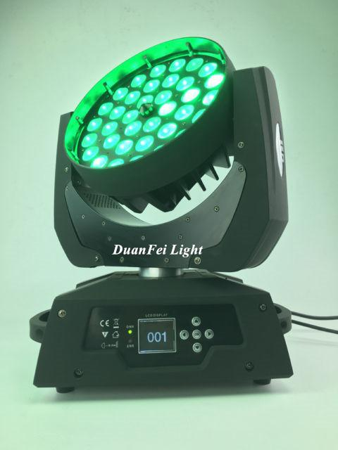 36x18W RGBWAUV 6in1 Circle LED Beam Moving Head Wash with Zoom 2