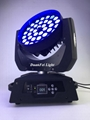 36x18W RGBWAUV 6in1 Circle LED Beam Moving Head Wash with Zoom 4