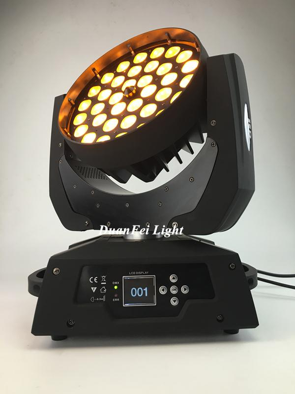36x18W RGBWAUV 6in1 Circle LED Beam Moving Head Wash with Zoom 5