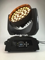 36x18W RGBWAUV 6in1 Circle LED Beam Moving Head Wash with Zoom