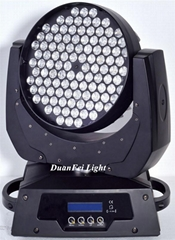 China pro moving head rgbw led moving head wash 108x3W