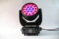 stage lighting wash rgbw led moving head wash zoom light 19x15w 10
