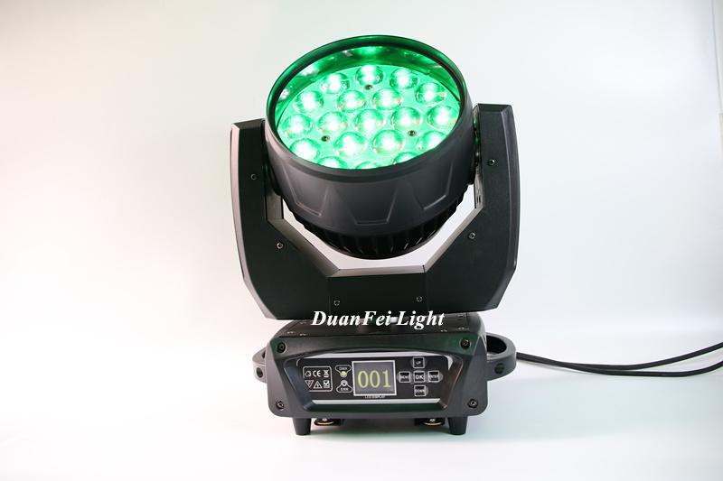 stage lighting wash rgbw led moving head wash zoom light 19x15w 7