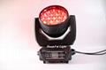 stage lighting wash rgbw led moving head wash zoom light 19x15w 8