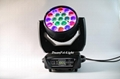 stage lighting wash rgbw led moving head wash zoom light 19x15w 11