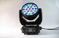 stage lighting wash rgbw led moving head wash zoom light 19x15w 12