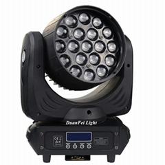 19x12w 4in1 rgbw led zoom moving head wash light