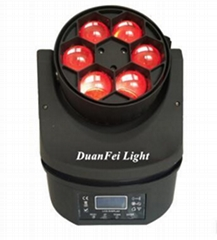6pcs 15w RGBW 4in1 Mini Bee eyes moving head led