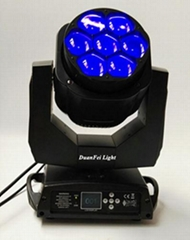 mini bee eyes moving head beam rgbw 4in1 7x15w