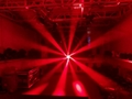 flower effect led dmx lyre zoom led moving head 6x40w