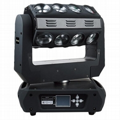 16x15w rgbw 4in1 led beam moving head light